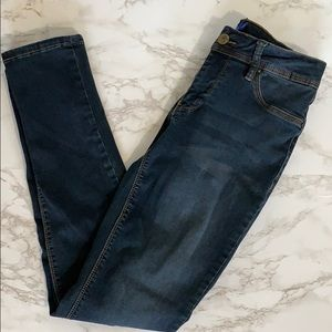 Dark Blue Slim Fit Petite Jeans